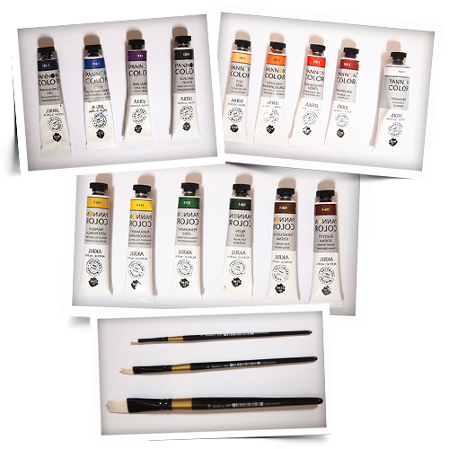 Akril festés eszközök