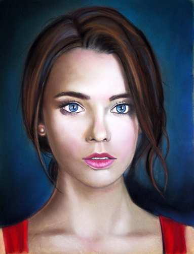 Pasztell portré