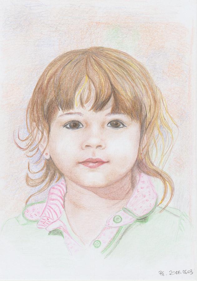 Valósághű színes ceruza rajzok